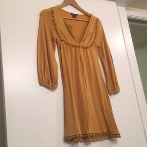 Miss Chievous dress Size S mustard/gold color